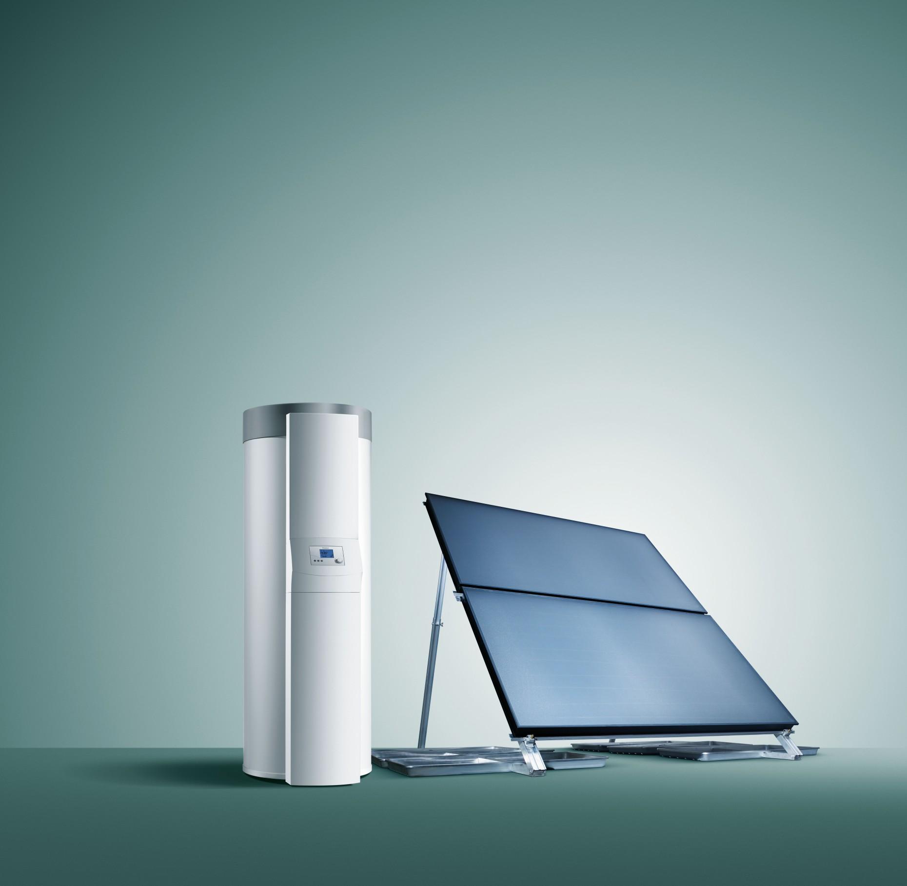 boiler zonnepaneel